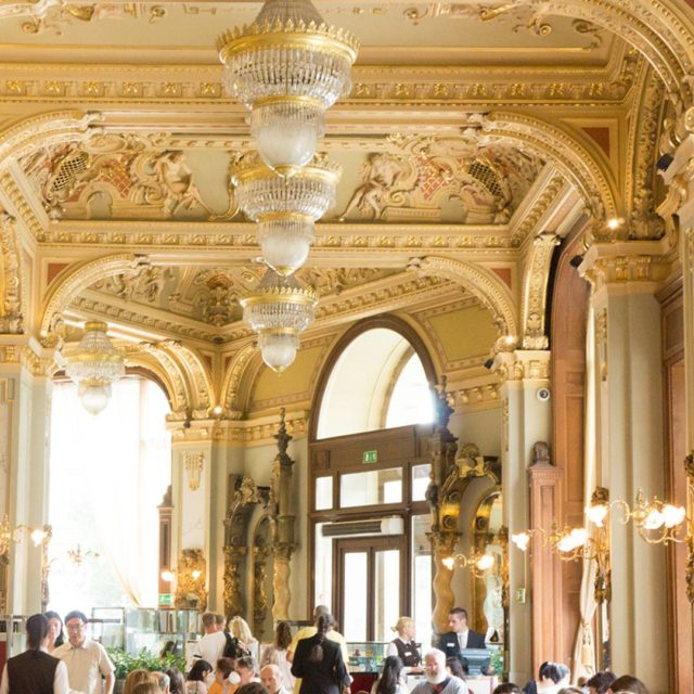 afternoonTea at NewYorkPalace Budapest rumored to be the most beautifulhellip