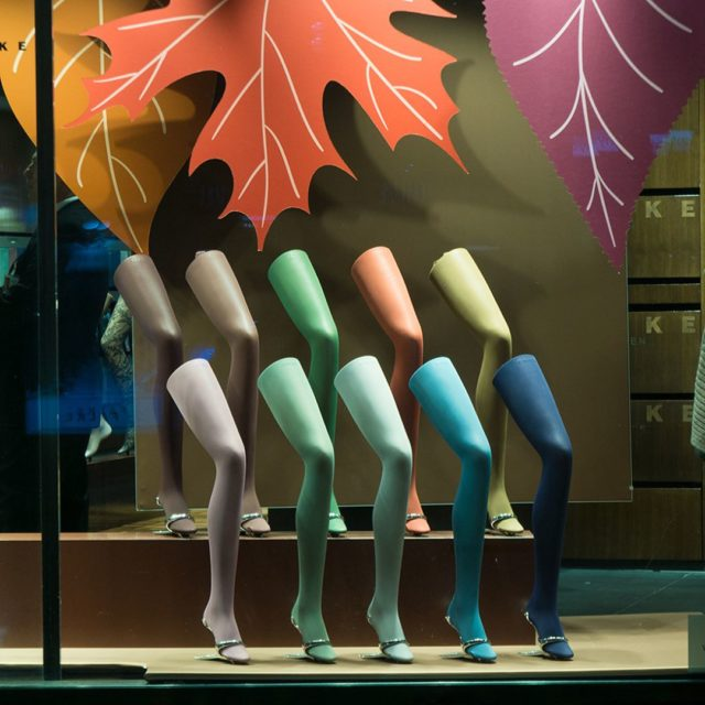 KuDamm by night high denier tights in various colors