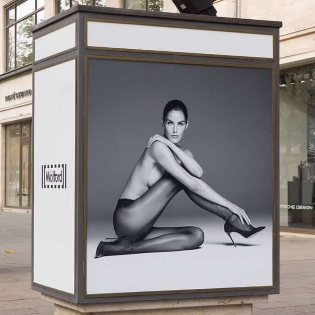 promotional poster for hosiery heels fetishism on the street femaleBeautyidealshellip