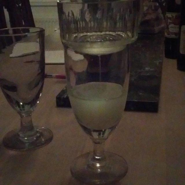 absinthe verteSuisse avec Le Boston