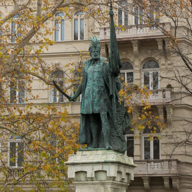KodlyKrnd in Budapest statue of MiklsZrnyiHungarian military leader and poethellip