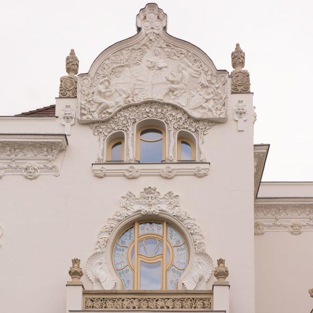 ArchiTour Budapest KrssyVilla designed in ArtNouveau  JugendStil by KrssyAlbertKlmnhellip