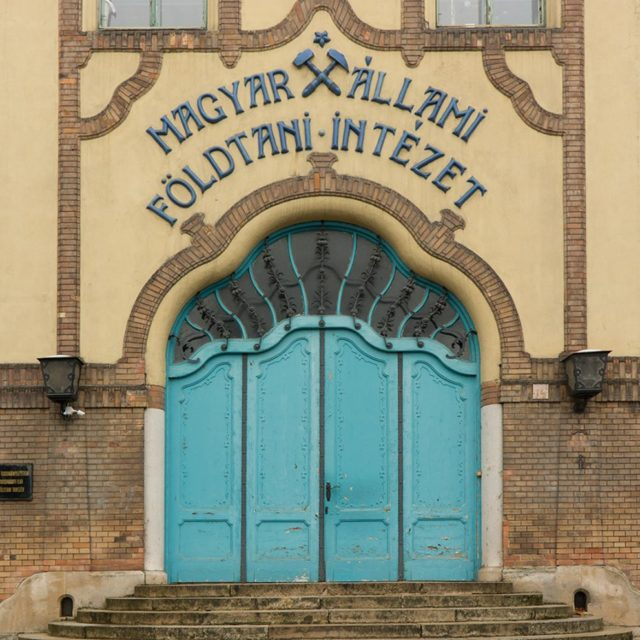 ArchiTour Budapest main entrance to the HungarianGeologicalInstitute designed by dnLechnerhellip