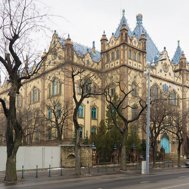ArchiTour Budapest HungarianGeologicalinstitute opened in 1899 designed by dnLechner inhellip